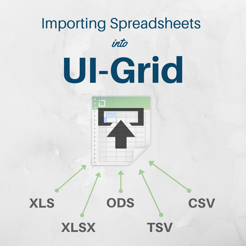 Easily Import Spreadsheets into UI-Grid